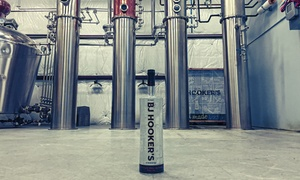 BJ Hooker's Vodka: Vodka Distillery Tour for Two, Four, or Six at BJ Hooker's Vodka (Up to 45% Off)