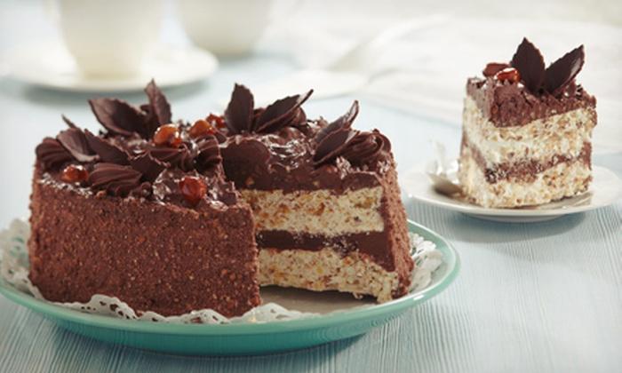 Crème de la Crème - Slidell: Custom 9-Inch Gourmet Cake, or $15 for $30 Worth of Bakery Treats at Crème de la Crème