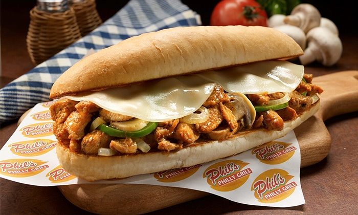 Phil's Philly Grill - Willow Bend Mall Food Court: One or Two 6-Inch Meal Combos at Phil's Philly Grill  (Up to 40% Off)
