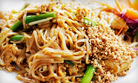 Three-Course Thai Dinner with Salads, Appetizers, and Entrees for Two or Four at Reka's Thai Restaurant (Up to 60% Off)
