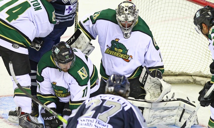 Mississippi RiverKings - Landers Center: Mississippi RiverKings Hockey Game with T-Shirt at Landers Center (Up to 51% Off). Three Games and Two Seating Options.
