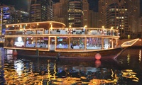 Dhow Dinner Cruise for One, Two or Four at Rikks Floating Restaurant Dubai