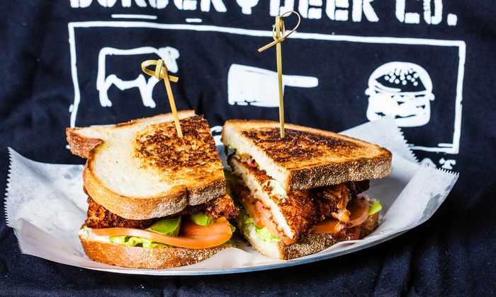 Black Iron Burger - 38th Street - Garment District: Burgers and Sides for Two or Four at Black Iron Burger - 38th Street (Up to 40% Off)
