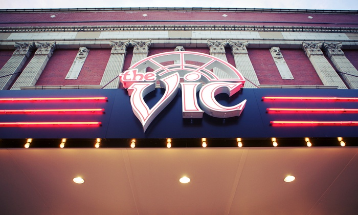 Brew & View at the Vic - Lakeview: $9 for a Movie and Popcorn for Two at Brew & View ($16 Value)