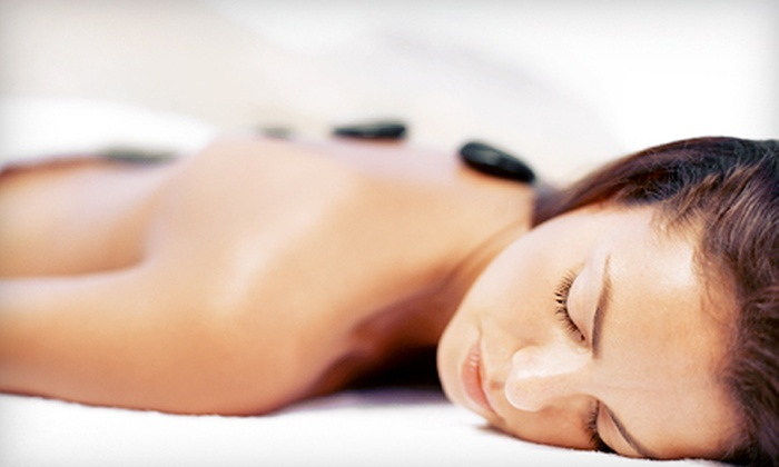 Relax Spa & Beauty Lounge - Burbank: One or Three Combo Massages with Hot Stones or Back Scrub at Relax Spa & Beauty Lounge in Burbank (Up to 53% Off)