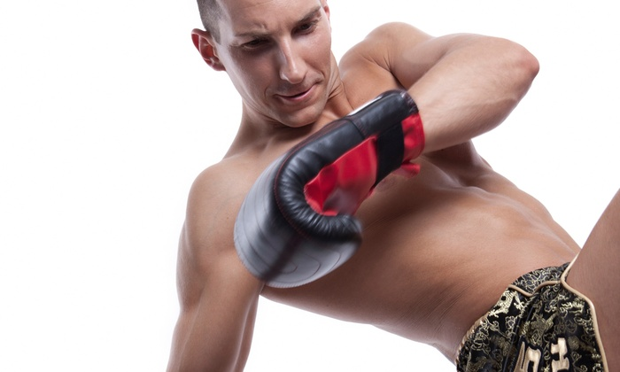 KnuckleUp Fitness - Multiple Locations: One Month Unlimited Kickboxing or Martial Arts Classes at KnuckleUp Fitness (Up to 81% Off)
