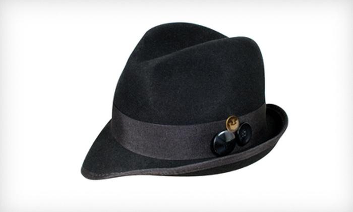 Goorin Bros. Women's Lady Latchford Fedora in Black: $19 for a Women's Lady Latchford Fedora in Black ($58 List Price). Three Sizes Available.
