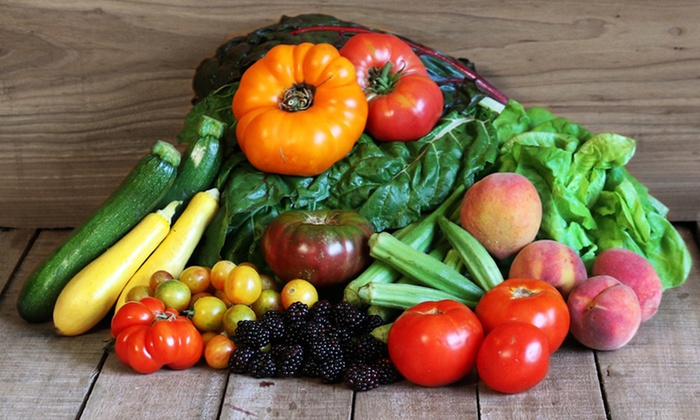 Farmhouse Delivery - Houston: $29 for Farm-to-Door Produce Delivery from Farmhouse Delivery ($59 Value)