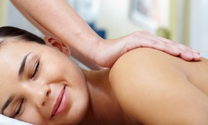 Spa Gaia: Massage/Facial or Mani-Pedi Spa Packages with Champagne for One or Two at Spa Gaia (Up to 52% Off)