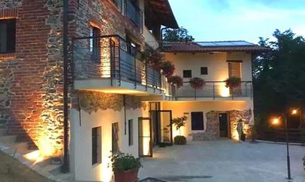Piemonte: camera matrimoniale Superior con colazione per 2 a 67€euro