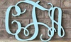 "Whimsy Timber: Custom 15"" or 24"" Unfinished or Finished Wood Monogram from Whimsy Timber (Up to 44% Off)"