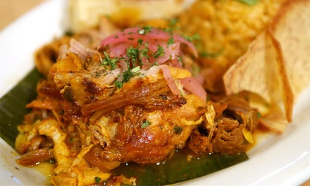 $19 for $30 Worth of Cuban and Puerto Rican Dinner Cuisine for Two or More at El Nuevo Frutilandia