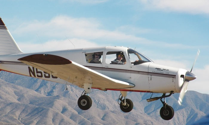 Flying High LLC - Mesa: Intro Flight Lesson for One or Two People from Flying High LLC (Up to 50% Off)
