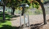 Crackle Glass Solar Lighted Wind Chime: Crackle Glass Solar Lighted Wind Chime