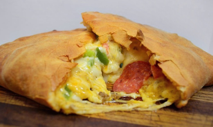 D.P. Dough - Greeley: $12 for $20 Worth of Calzones at D.P. Dough