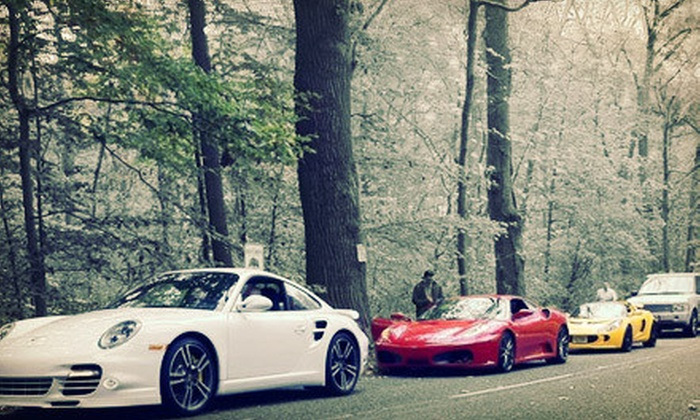 $199 for a Two-Hour Exotic-Car Racing Experience from Mach5 Cars on Any Wednesday in April–August ($499 Value)