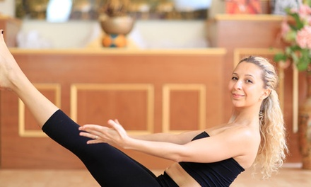 $35 for One Month of Unlimited Yoga, Zumba, Pilates, and Fitness and Wellness Classes at BellaVita ($400 Value)