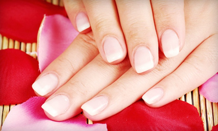 Nails by Tobie Rae - Beach Barber Tract: Two or Four Shellac Manicures and Glasses of Wine at Nails by Tobie Rae (Up to 57% Off)