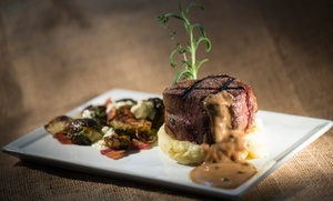 Nirvana Grille: Farm-to-Table Dinner at Nirvana Grille (Up to 33% Off)
