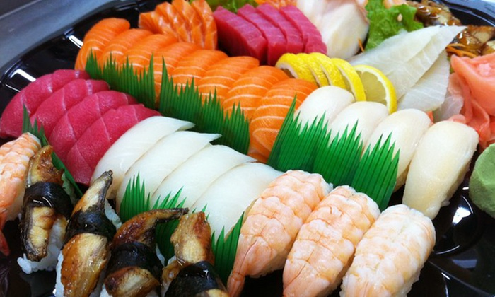 DK Sushi House - Moose Jaw: Japanese Cuisine for Two or Four at DK Sushi House (Half Off)