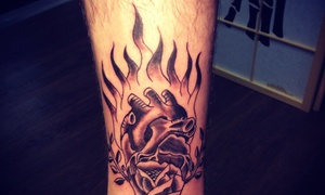 Peter Lozoya at Boss Tattoos: Up to 50% Off Tattoo Services at Peter Lozoya at Boss Tattoos