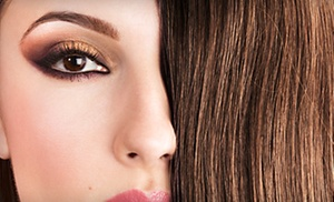Danielle's Place: Cut, Conditioning, and Blow-Dry; or Ombré Color Treatment, Cut, Glaze, and Blow-Dry at Danielle's Place (Up to 78% Off)