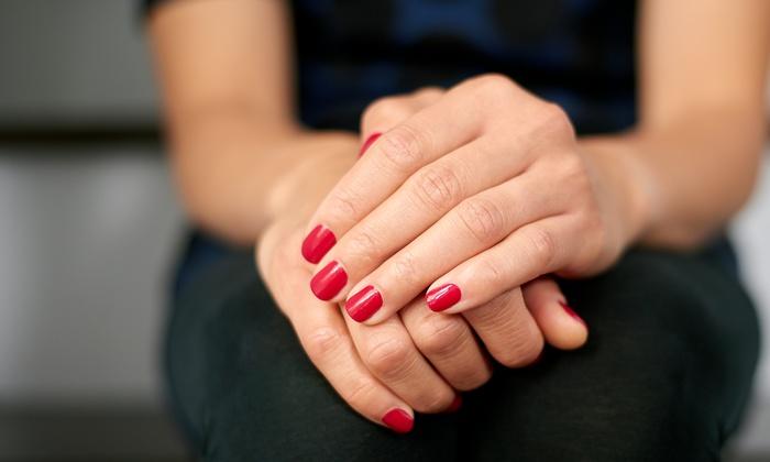 Eva at Polish Nails - San Antonio: A No-Chip Manicure from Eva at Polish Nails (55% Off)