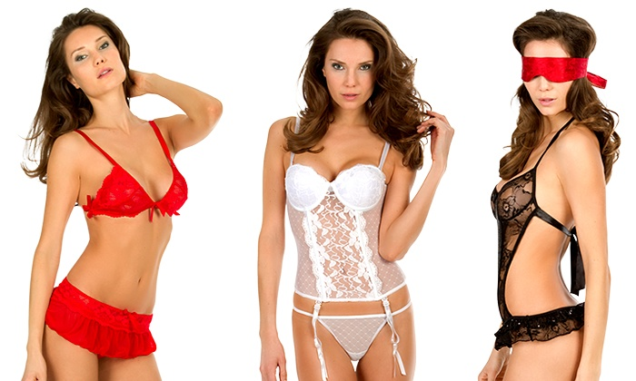 SexyBox: $16.99 for a One-Month Lingerie Mystery Box Subscription from SexyBox ($34.95 Value)