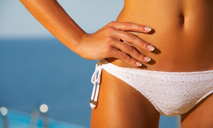 Sun Care - Sun Care: One Brazilian Sugaring Treatment at Sun Care (60% Off )
