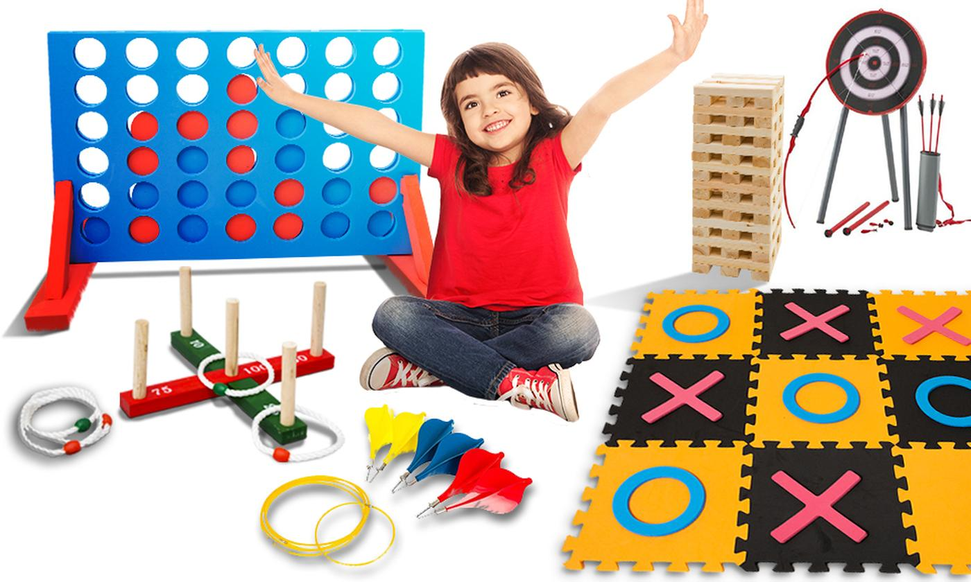 Range of Jumbo-Sized Family Garden Games
