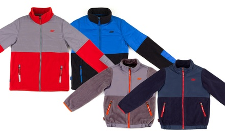 Skechers Little and Big Boys Fleece Jackets. Multiple Styles Available from $26.99—$29.99.