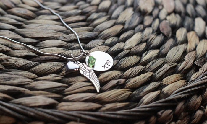 Love Stamped: $19 for a Hand-Stamped Remembrance Necklace from Love Stamped ($40 Value)