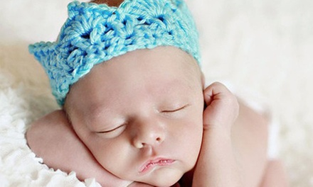 180-Minute Newborn Photo Shoot from Hartshorn Studios (70% Off)