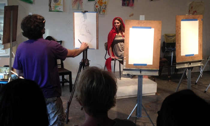 Space One Eleven - Central City: Figure Drawing Art Class for One, Two, Three, or Four at Space One Eleven (Up to 42% Off)