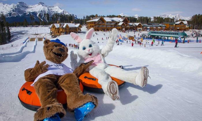 Lake Louise Ski Resort - Lake Louise Summer Gondola: Snow Tubing for Two or Four at Lake Louise Ski Resort (Up to 50% Off)