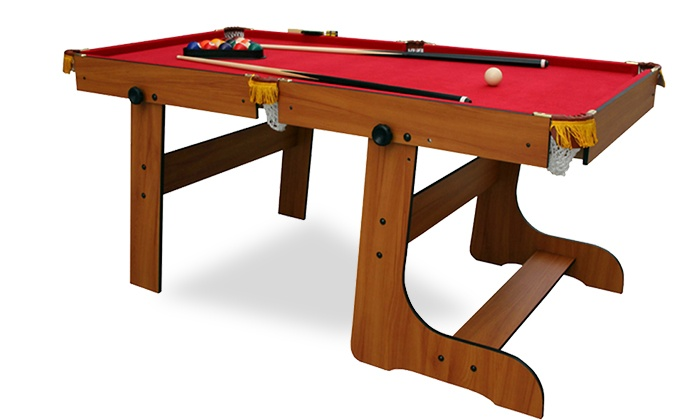 SPORT AND LEISURE UK: Duke Foldable Pool Table For £109.99 With Free  Delivery ...