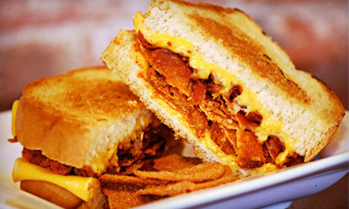 Tom + Chee - Deer Park: $6 for $12 Worth of Grilled Sandwiches and Soups at Tom + Chee