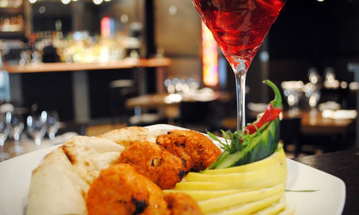 Guru Restaurant & Bar - Place LaRue: $25 for $50 Worth of Upscale Indian Food for Dinner at Guru Restaurant & Bar