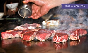 Koby Japanese Steakhouse: Hibachi Dinner for Two or Four at Koby Japanese Steakhouse (40% Off)