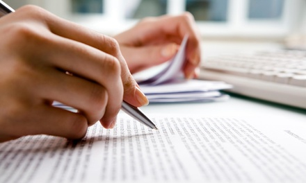 $35 for $150 Worth of Creative Writing Certification at Tekno Web Publishing