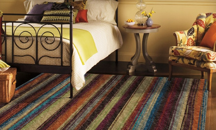 "Mohawk Home Patterned Nylon Rugs: 60""x96"" or 96""x120"" Mohawk Home Patterned Nylon Rugs (Up to 65% Off). Free Shipping. Multiple Patterns Available."