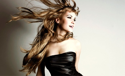 Haircut and Conditioning with Style, Color, or Partial or Full Highlights at Vivid Salon & Spa (Up to 57% Off)