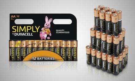 Duracell Simply AA- oder AAA-Batterien (Frankfurt)