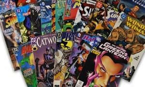 DC, Marvel, or Independent Comic Bundle
