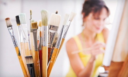 4-Hour Beginners' Experimental-Painting Class for 1 (a $50 value) - The Miller School of Art in Seattle