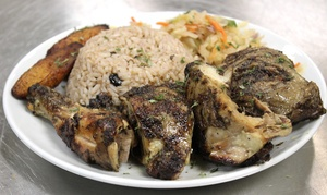 The Cafe DbyD:  $18 for $30 worth of Jamaican and American Cuisine for Dinner at The Cafe DbyD