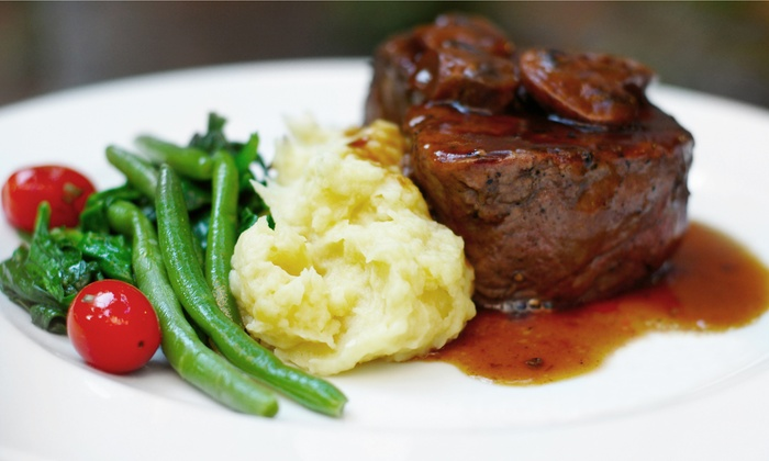 The Oaks Lakeside - Lafayette: $15 for $30 Worth of Upscale American Cuisine for Two During Dinner at The Oaks Lakeside