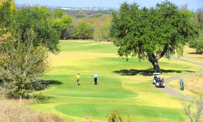 SilverHorn Golf Club of Texas - Far North Central: $49 for a Lesson and One Month of Driving-Range Use at SilverHorn Golf Club of Texas ($100 Value)
