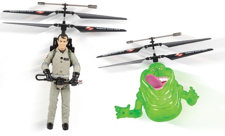 Ghostbusters Remote Control Flying Figurines