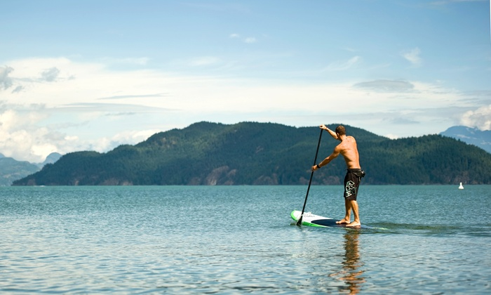 Pure Life Paddle Boards - Cultus Lake: 60-Minute Standup Paddle Board Lesson for One, Two, or Four from Pure Life Paddle Boards (Up to 56% Off)